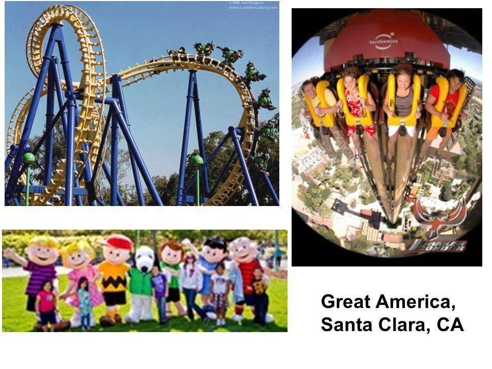Great America, Santa Clara, CA