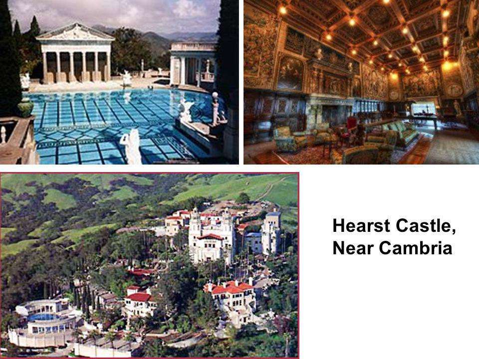 Hearst Castle, Near Cambria