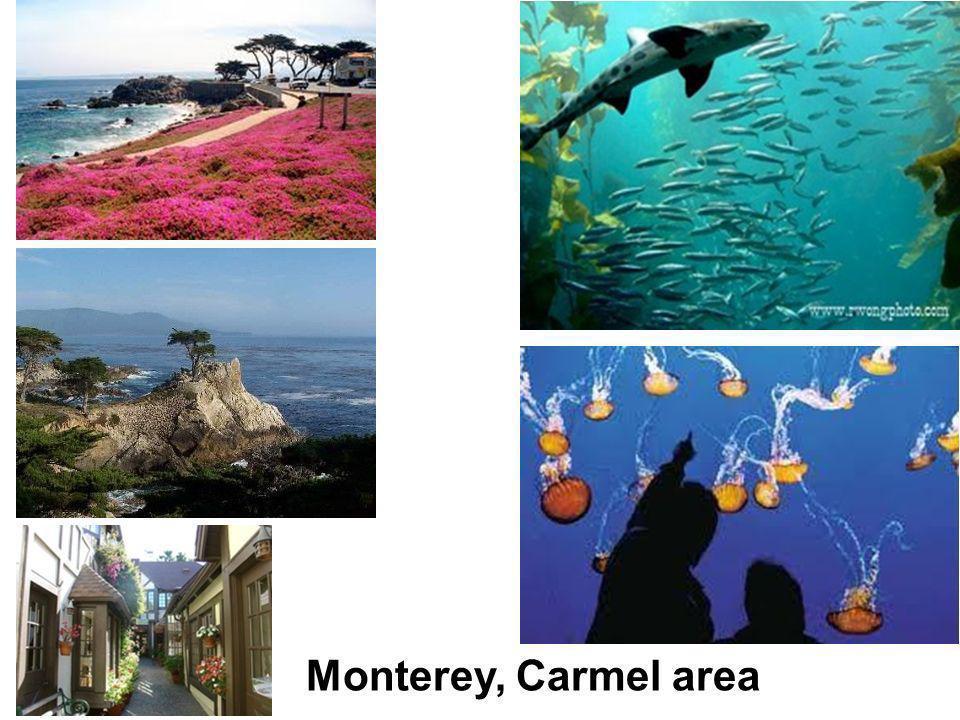 Monterey, Carmel area