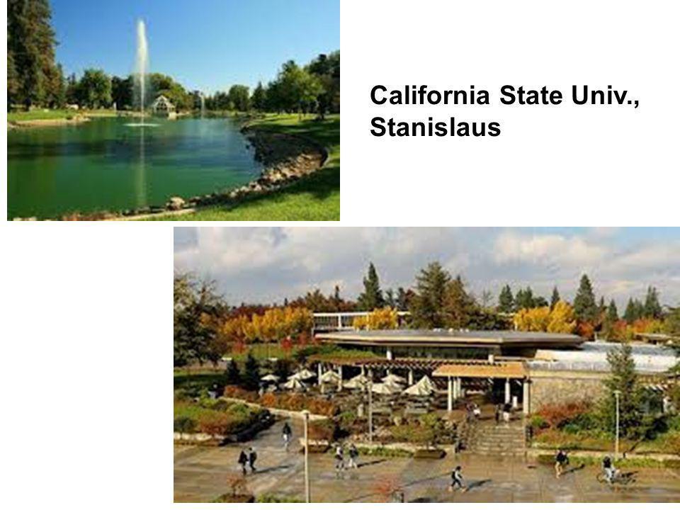 California State Univ., Stanislaus