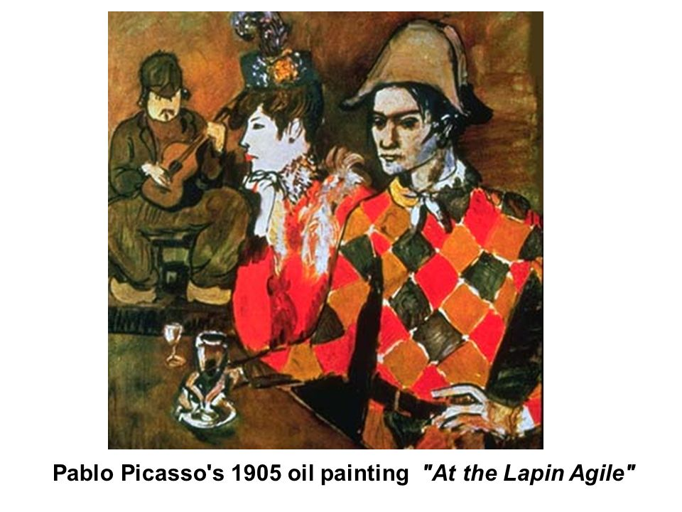 Pablo Picasso's 1905 oil painting