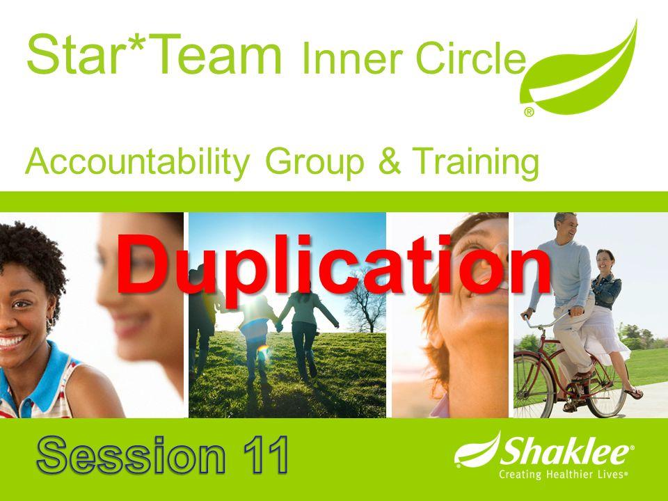 Star*Team Inner Circle Accountability Group & Training Duplication