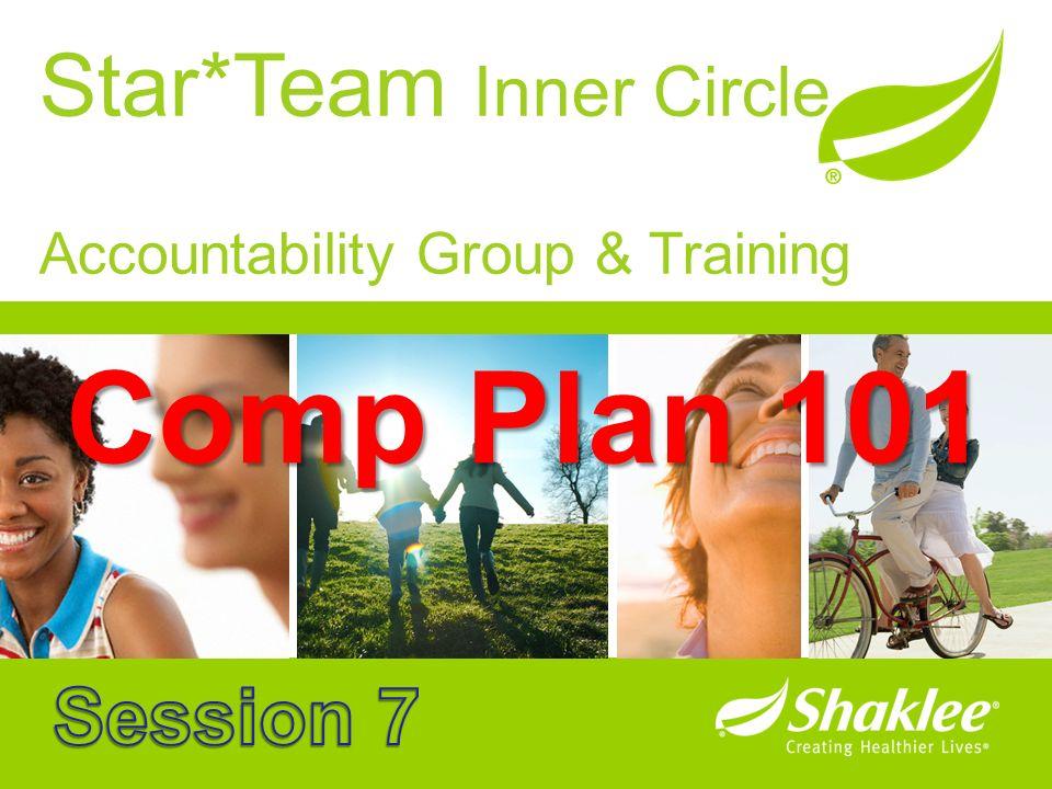 Star*Team Inner Circle Accountability Group & Training Comp Plan 101