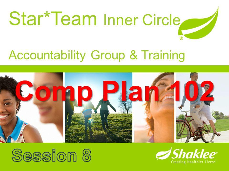 Star*Team Inner Circle Accountability Group & Training Comp Plan 102