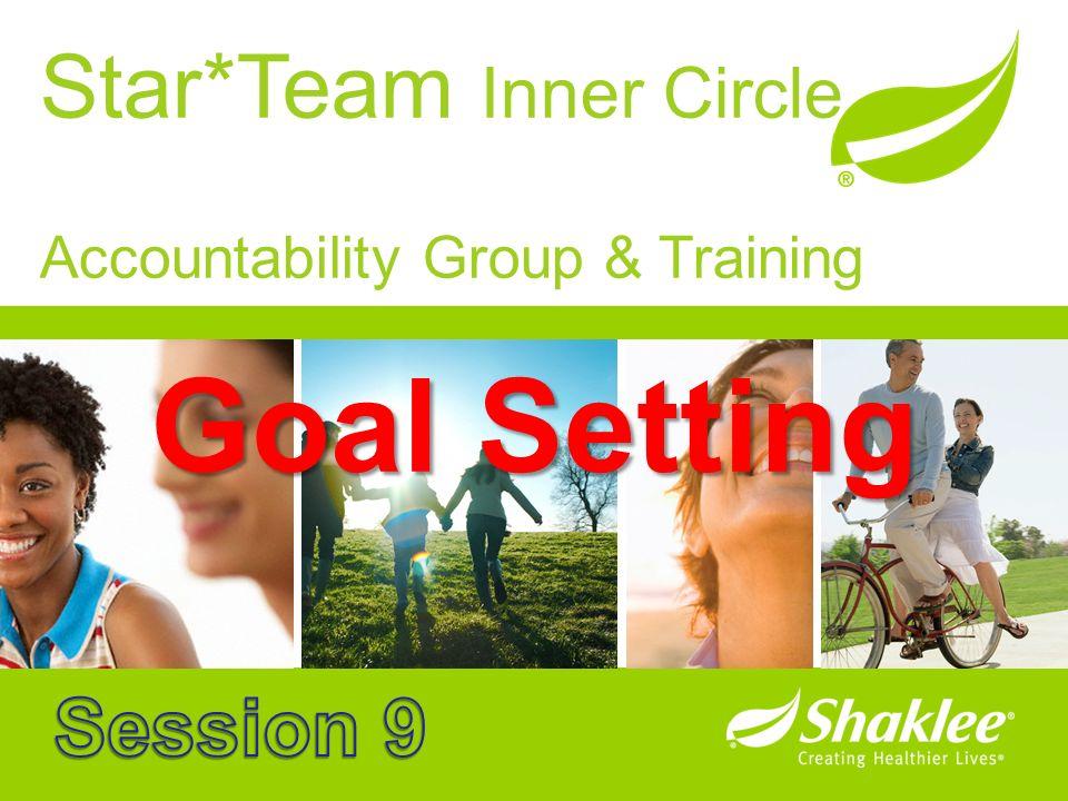 Star*Team Inner Circle Accountability Group & Training Goal Setting