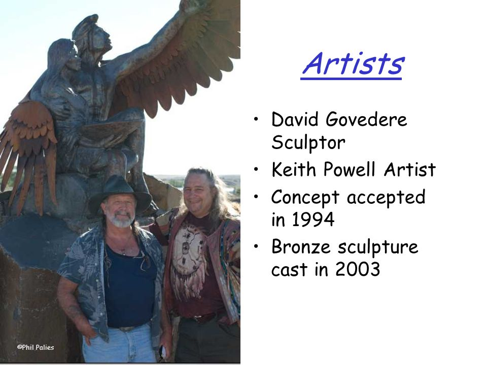 Artists David Govedere Sculptor Keith Powell Artist Concept accepted in 1994 Bronze sculpture cast in 2003 ©Phil Palies