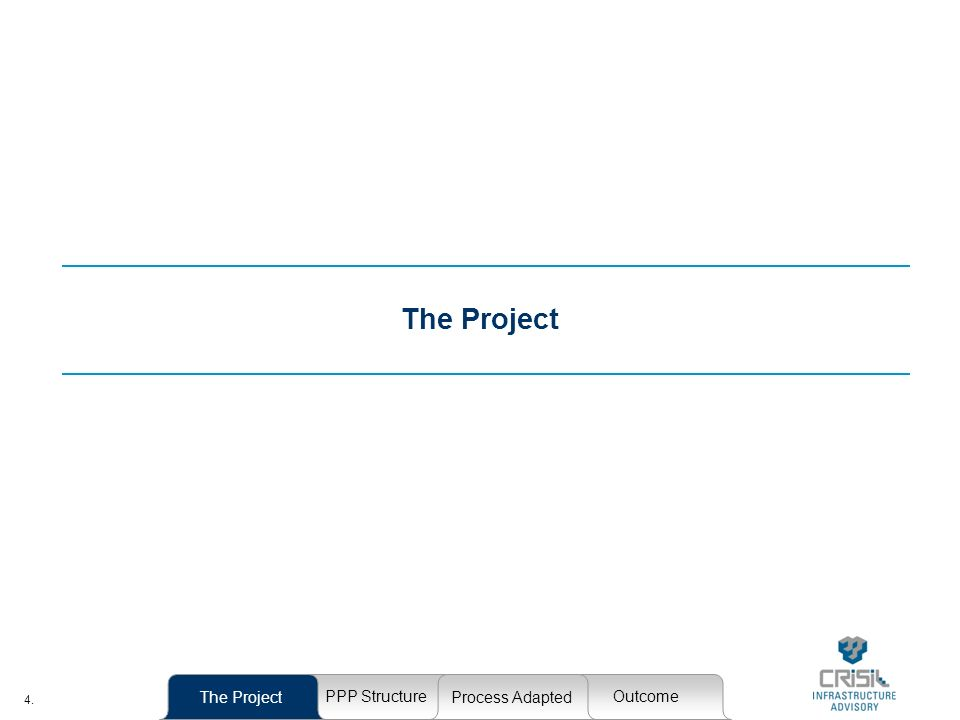 4. The Project PPP StructureOutcome Process Adapted