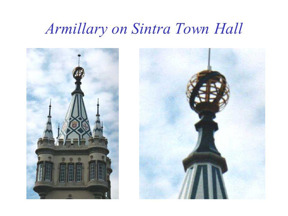Armillary on Sintra Town Hall