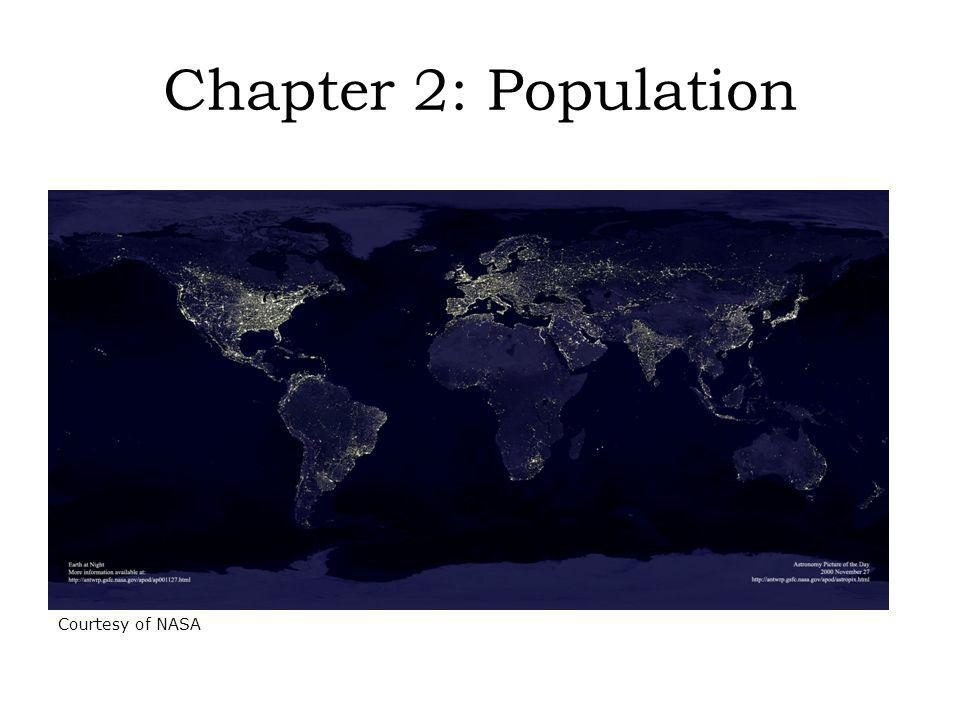 Population density: a countrys total population relative to land size Assumes an even distribution of population to the land Where in the World People Live and Why © H.J.