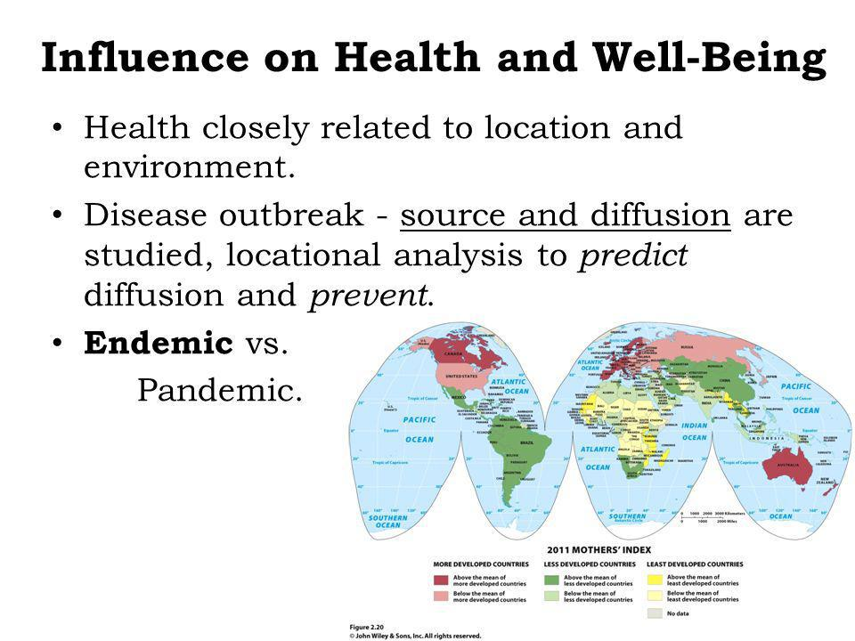 Infectious Diseases 65% of all diseases are infectious Malaria – Vectored = indirect contact with host.