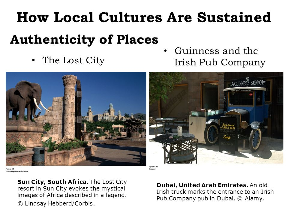 Authenticity of Places The Lost City Guinness and the Irish Pub Company Sun City, South Africa. The Lost City resort in Sun City evokes the mystical i