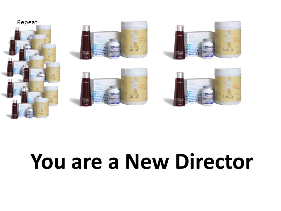 You are a New Director Repeat