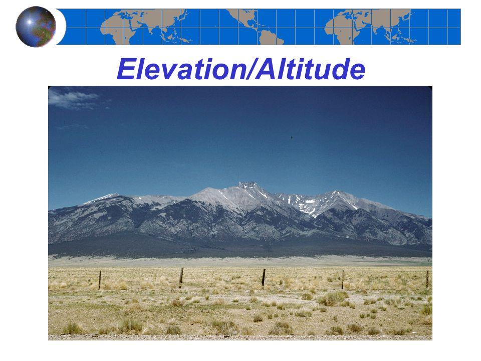 Elevation/Altitude