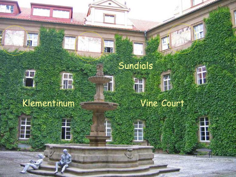 Vine Court KlementinumVine Court Sundials