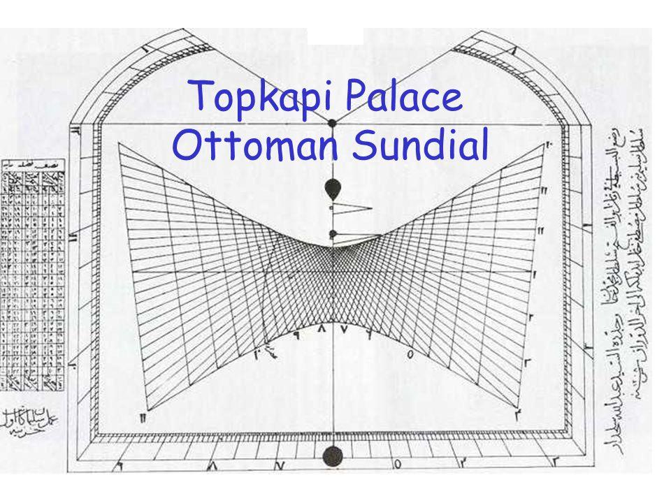 Topkapi Palace Ottoman Sundial