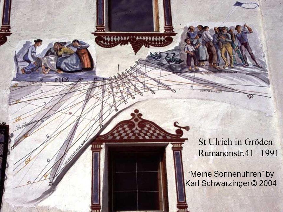 St Ulrich in Gröden Rumanonstr.41 1991