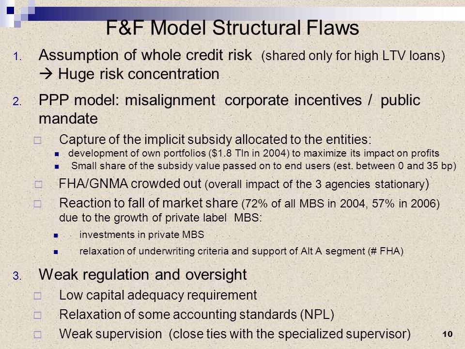 F&F Model Structural Flaws 1.