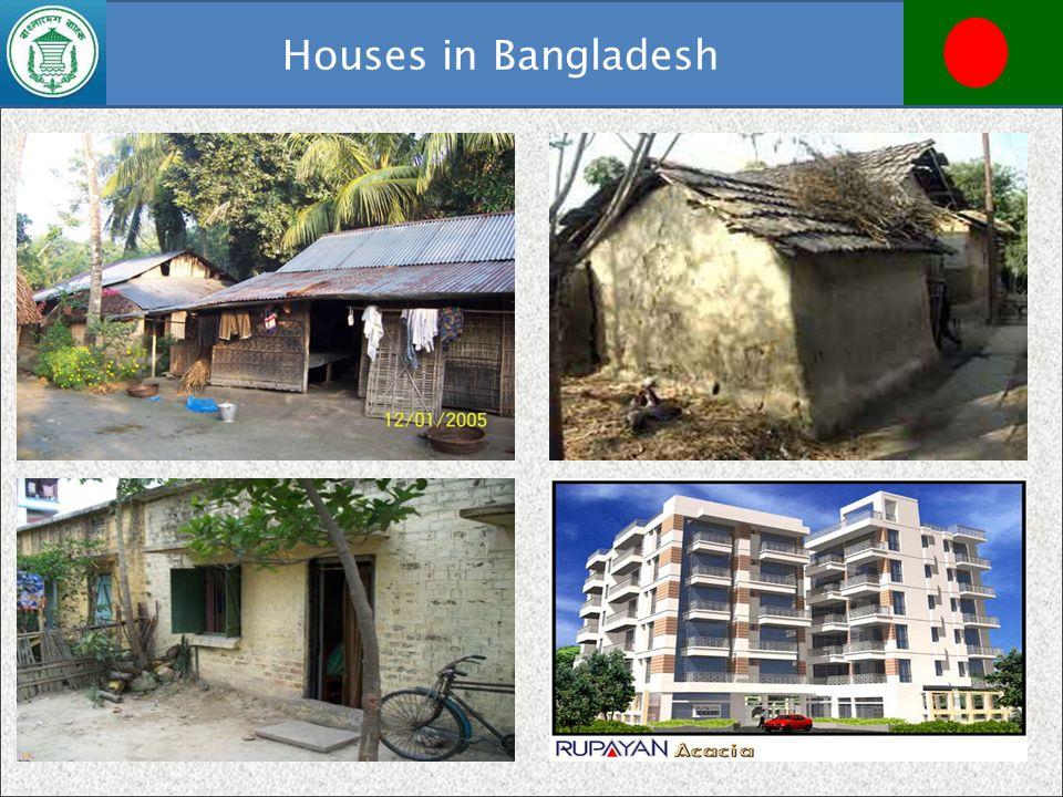 Houses in Bangladesh