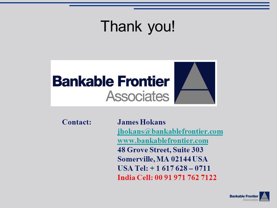 Contact:James Hokans jhokans@bankablefrontier.com www.bankablefrontier.com 48 Grove Street, Suite 303 Somerville, MA 02144 USA USA Tel: + 1 617 628 –