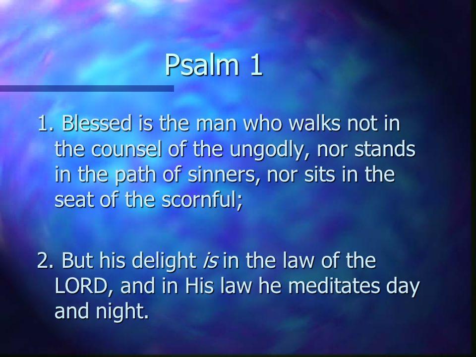Psalm 1 1.