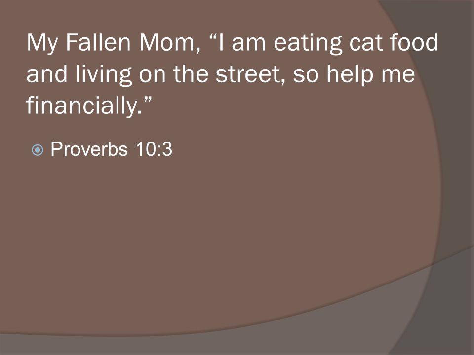 Proverbs 10:3