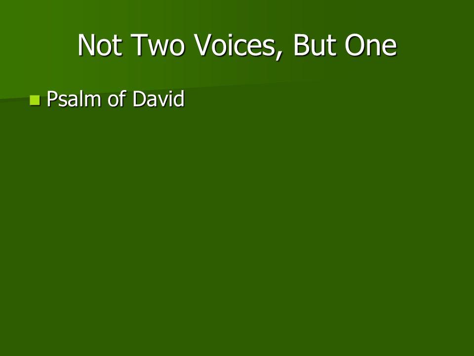 Psalm of David Psalm of David