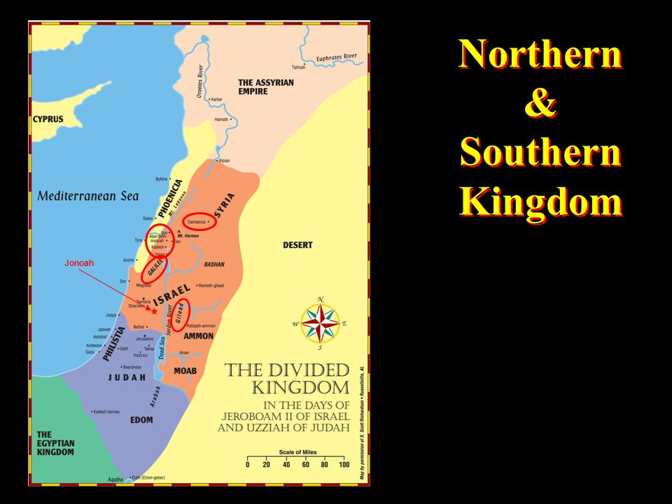 Northern & Southern Kingdom Northern & Southern Kingdom Jonoah