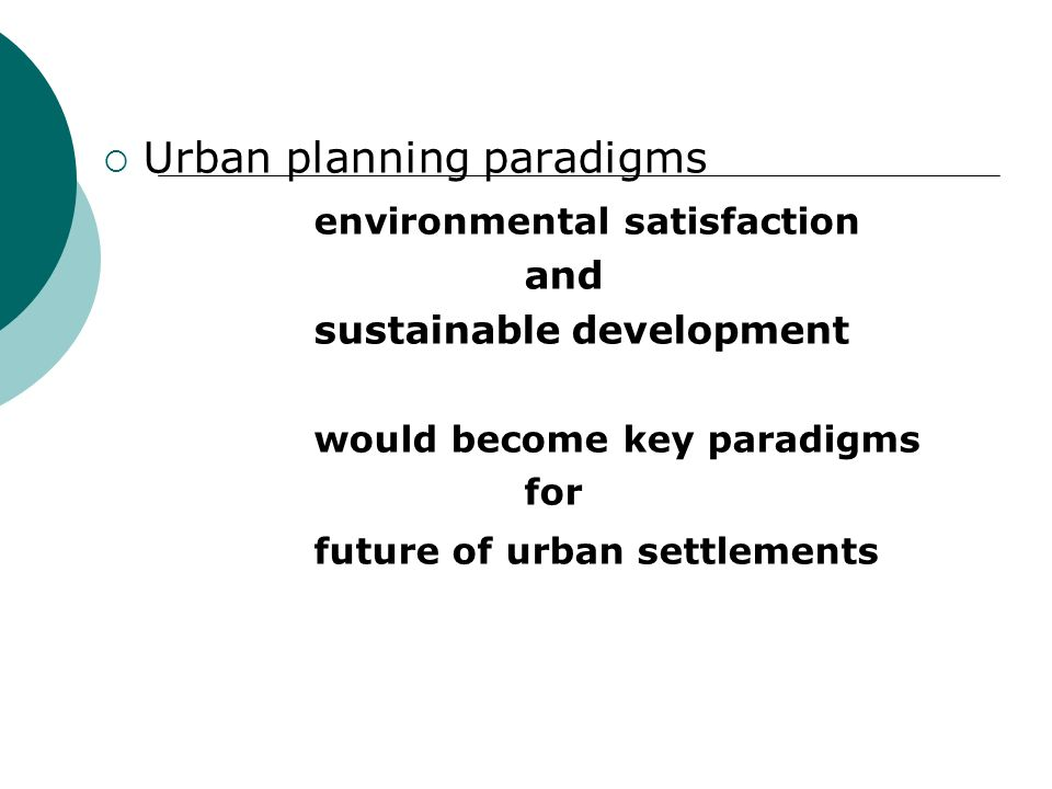 ADOPT ECOLOGICAL PRINCIPLES IN PLANNING ASSESSMENT OF CARRYING CAPACITY ROLE OF PLANNERS Contd