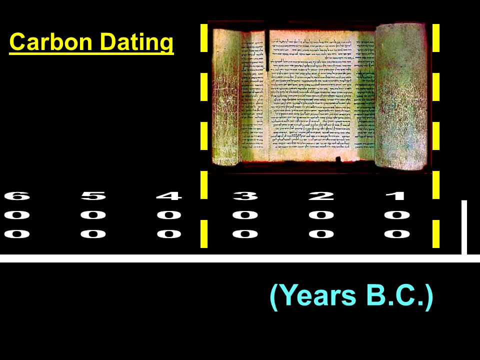 (Years B.C.) Carbon Dating