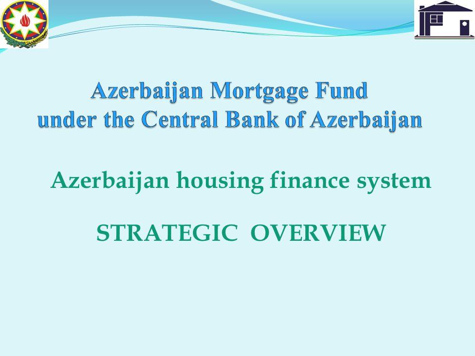 Azerbaijan housing finance system STRATEGIC OVERVIEW