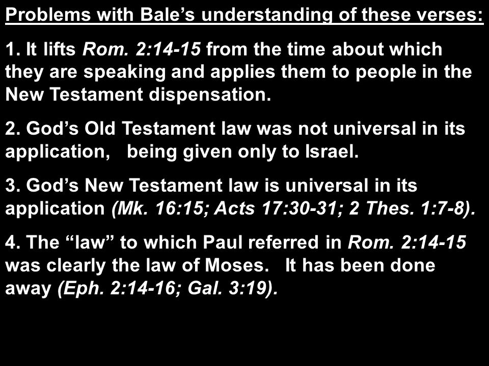 The State of the Jews (Rom.9-11) 1. Pauls grief over their lost condition (9:1- 5) 2.