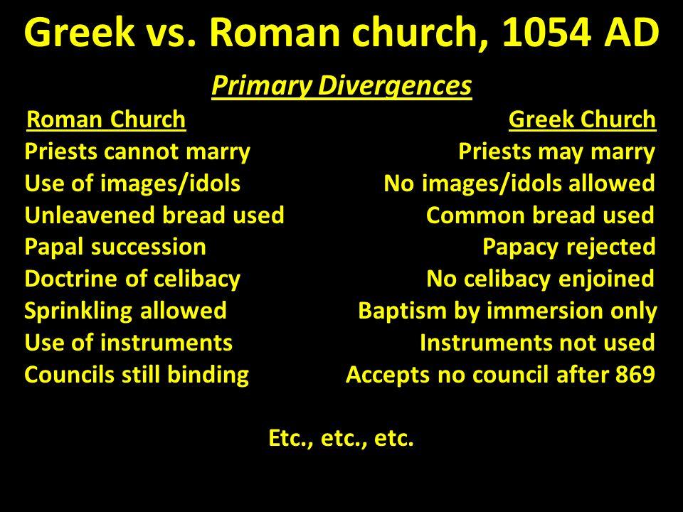 Greek vs.