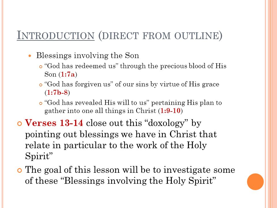 C ONCLUSION It is clear that we have the Holy Spirit as both a seal and guarantee So what does that mean??.