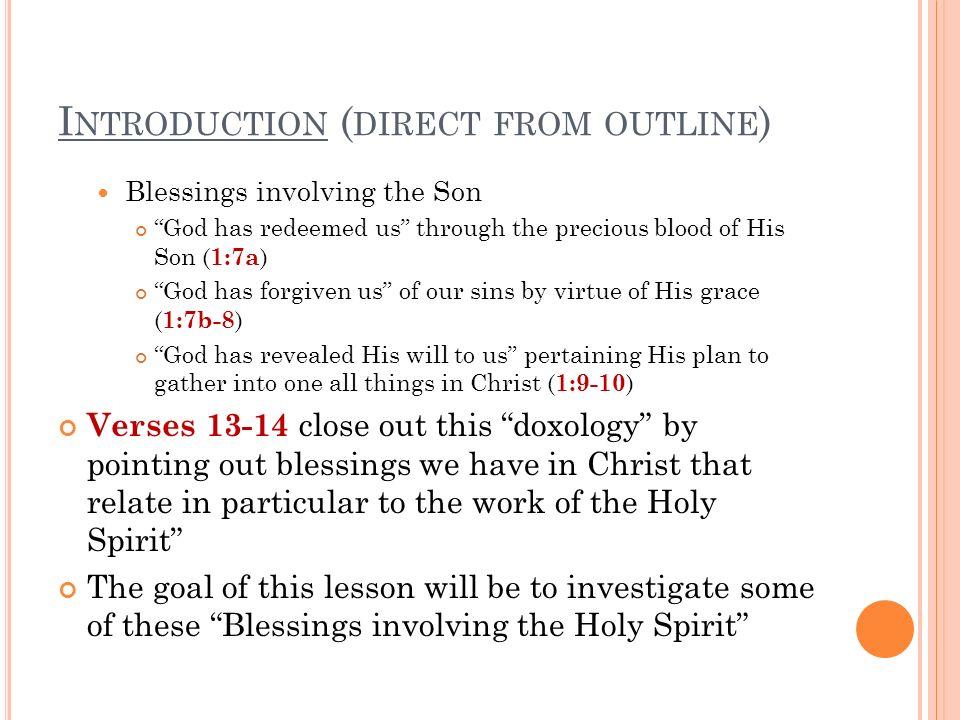 T HE H OLY S PIRIT IS OUR S EAL What does the term seal actually mean.
