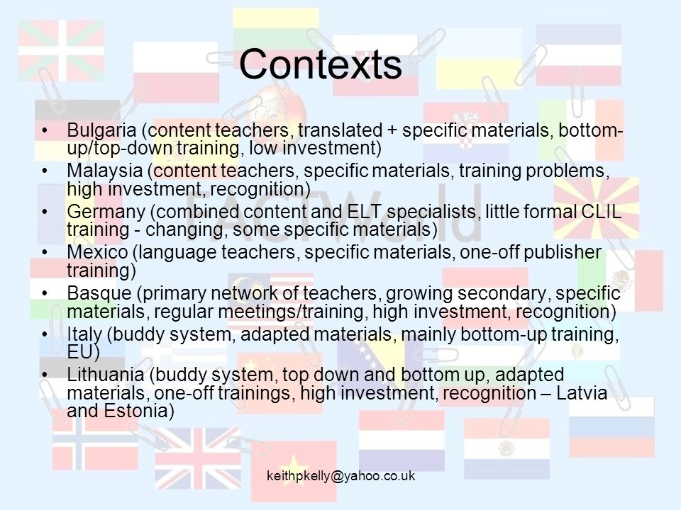 keithpkelly@yahoo.co.uk Writing Frames and language support sheets Integrating content and writing Supplementing textbooks Writing reports Making observations Making presentations Creative writing