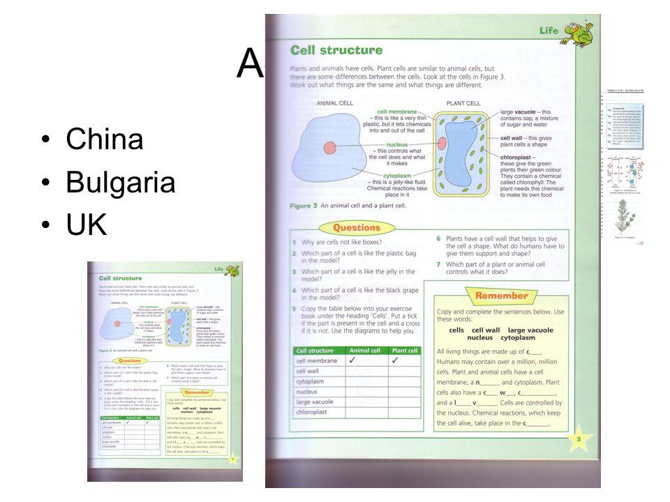 Adaptation China Bulgaria UK