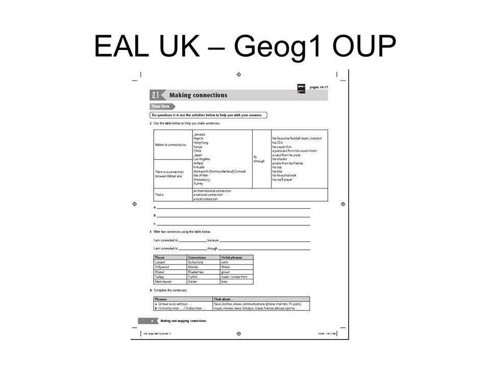 EAL UK – Geog1 OUP
