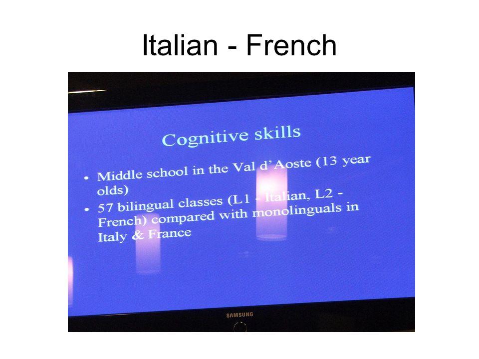 Italian - French