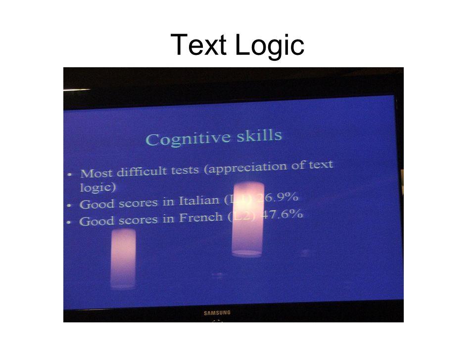 Text Logic