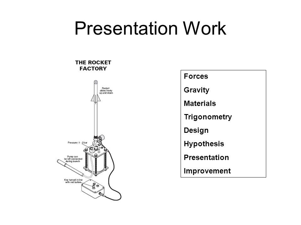 Presentation Work Forces Gravity Materials Trigonometry Design Hypothesis Presentation Improvement