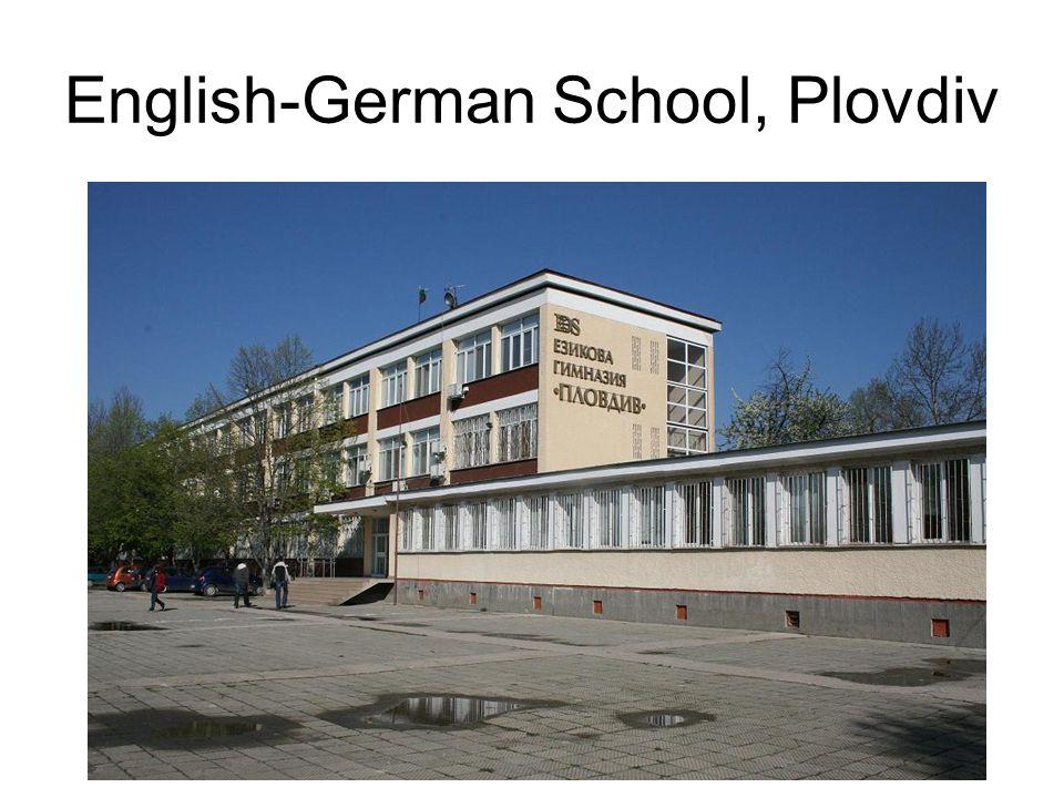 English-German School, Plovdiv