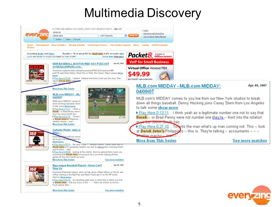 Multimedia Discovery 5