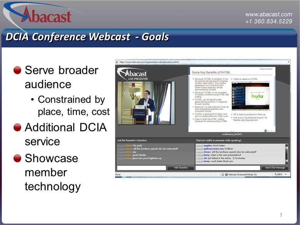 4 P2P Traction - Case Studies Enterprise - Live Video Radio - High Quality Audio High Definition Video