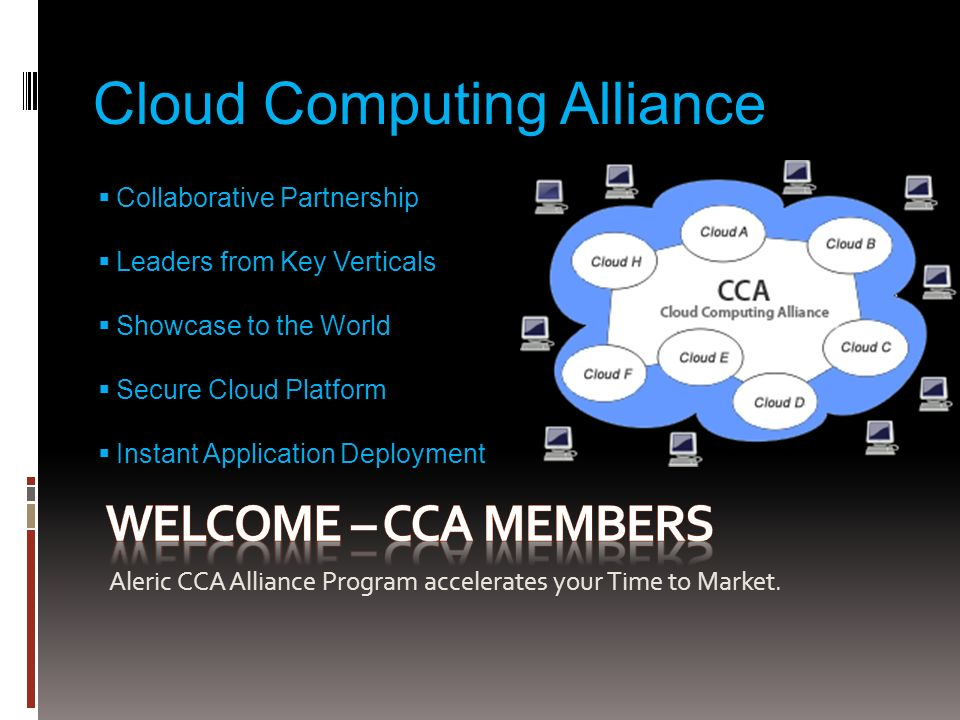 CCA Cloud Applications