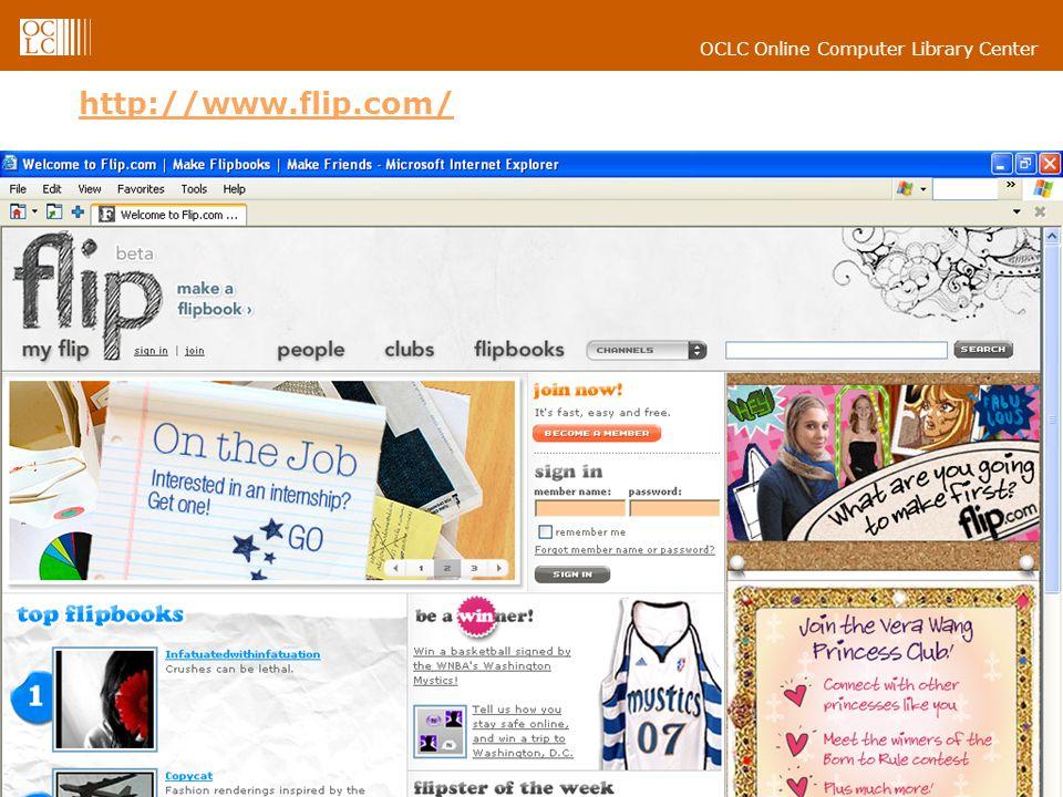 OCLC Online Computer Library Center 18 http://www.flip.com/