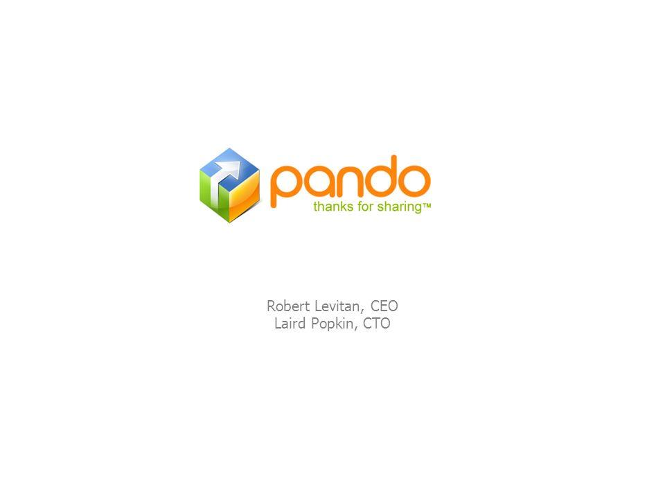Robert Levitan, CEO Laird Popkin, CTO