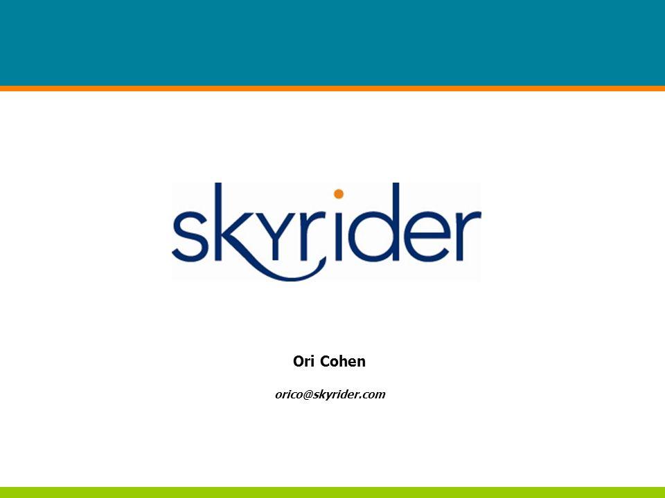Page 1 Ori Cohen orico@skyrider.com