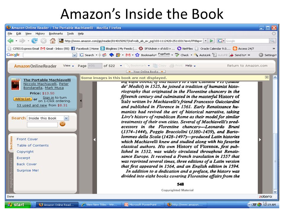 Amazons Inside the Book 18