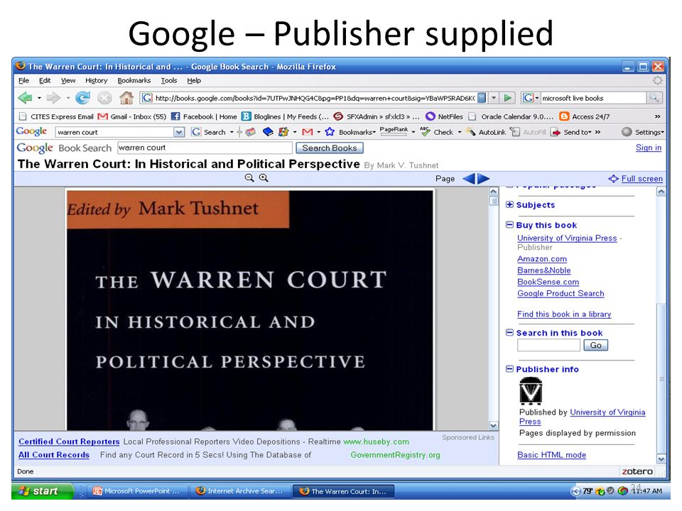 Google – Publisher supplied 24