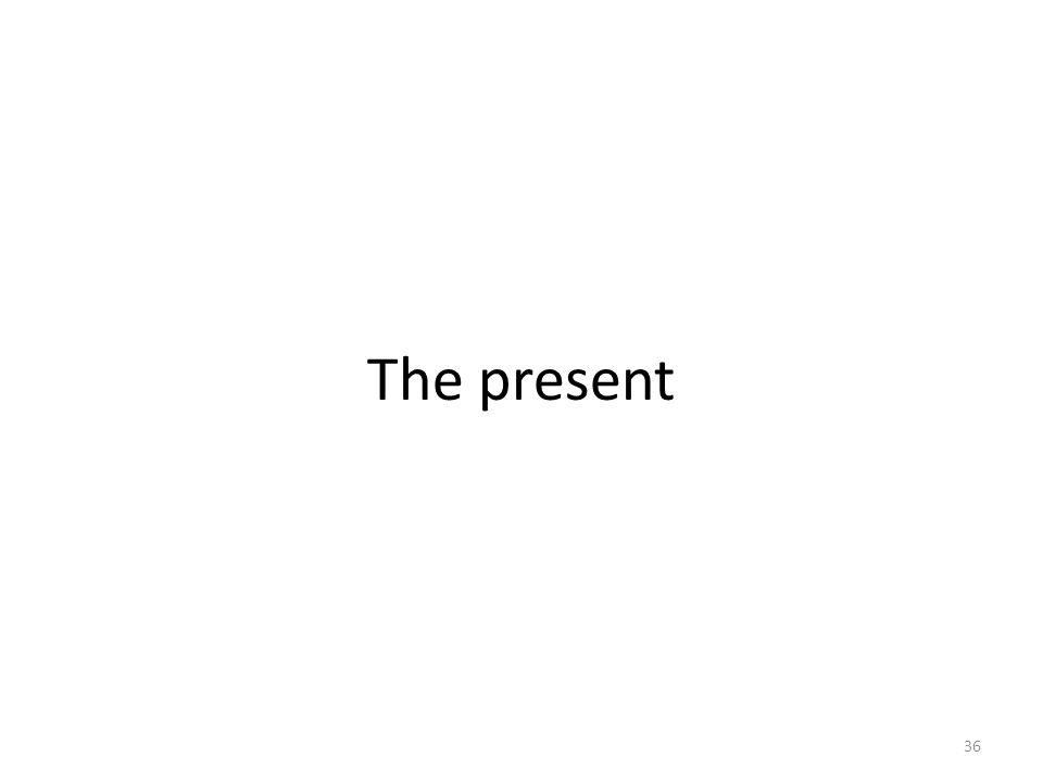 The present 36
